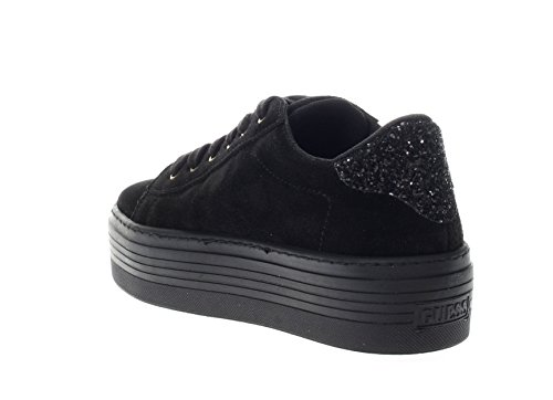 SUE12 Women Guess FLCRI4 Black Sneakers w6CxqBH7pF