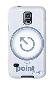 Hot Point228 Blue Point First Grade Tpu Phone Case For Galaxy S5 Case Cover