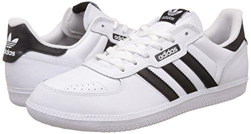 Adidas leonero Herren Sportschuhe, Weiß–�?Ftwbla/negbas/azucie) Weiß-Schwarz