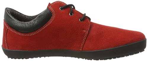 Adulto Derby Cordones de Unisex Zapatos Runner Kari Rot Red Sole X0PxHwW