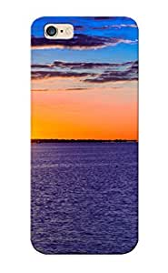 Iphone 6 Plus Case Slim [ultra Fit] Sea Aeyaey Sunsetlandscape Sky Clouds Ocean Protective Case Cover(best Gift Choice For Friends)
