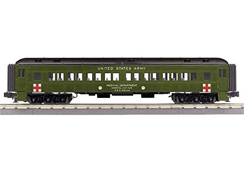 U.S.ARMY 60' MADISON COACH CAR by MTH TRAINS; MIKES TRAIN HOUSE