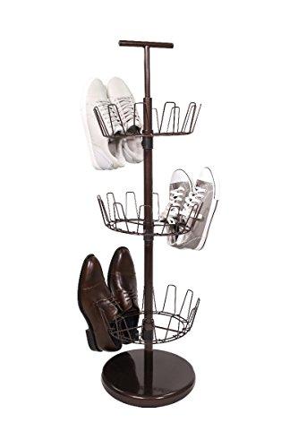 shoe rack bronze - 9