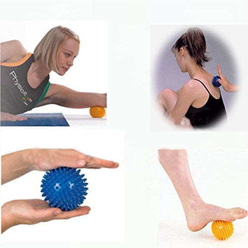 Cido 9cm Spiky Ball Footful Massage Trigger Points Physio Pain Relief Stress Relief