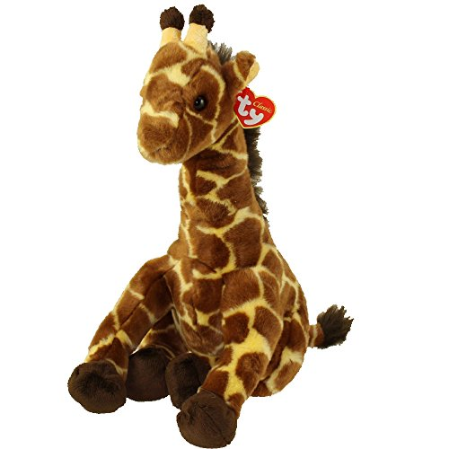 TY Classic Plush - HIGHTOPS the Giraffe (1st Version - Smooth Hair)(13.5 inch) (Ty High Tops)