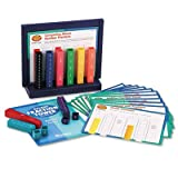 Deluxe Fraction Tower Activity Set, Math Manipulatives, for Grades 1-6, Sold as 51 Each