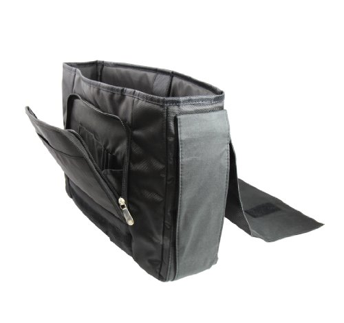 Luxburg® Design Messenger Bag Notebooktasche Umhängetasche für 15,6 Zoll, Motiv: Auge