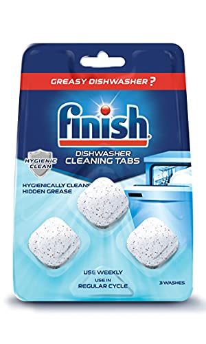 In-Wash Dishwasher Cleaner: Clean Hidden Grease and Grime, 3 ct (Best Choice)