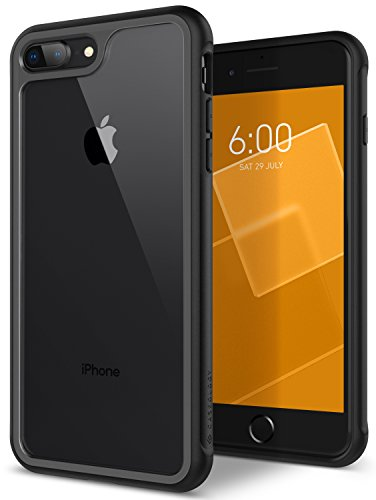 Caseology Coastline for Apple iPhone 8 Plus Case (2017) / for iPhone 7 Plus Case (2016) - Slim & Transparent - Gray