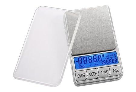Smart Weigh DBL1KG Digital Báscula Oro monedas - Báscula de cocina electrónica 1000 x 0.1 g con Pantalla Dual...: Amazon.es: Hogar