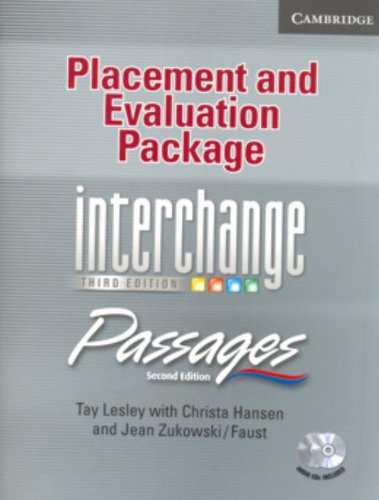 Read Pdf Placement and Evaluation Package Interchange Third