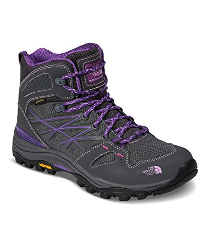 The North Face Hedgehog Fastpack Mid GTX Hiking Boot - Women's Dark Shadow Grey/Violet Tulle, 6.5