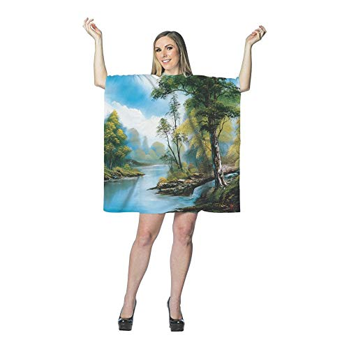 Rasta Imposta Bob Ross Painting Dress Costume ()