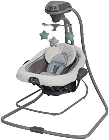 Graco DuetConnect LX Baby Swing and Bouncer, Manor