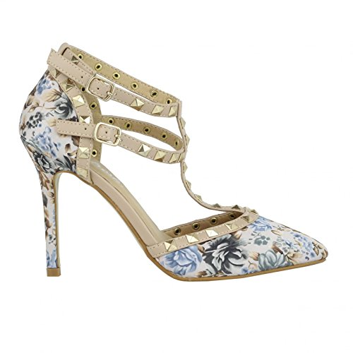 Sandalias de Mujer REFRESH 61968 TEXTIL TAUPE