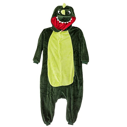 Sleepsuit Costume Cosplay Homewear Lounge Wear Dinosaurs Pajamas L (Funny Onesie Adults)