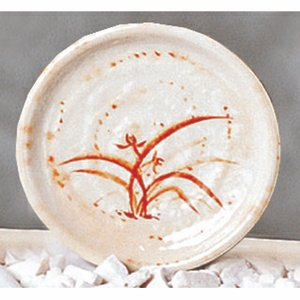 Thunder Group Asian Melamine JM Gold Orchid Dish, 4 inch - 12 per case.