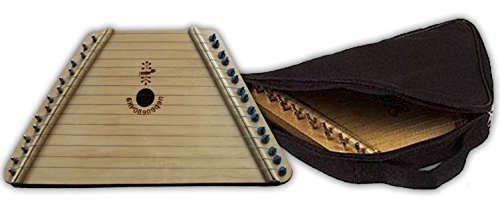 Music Maker Lap Harp with Music and FREE CASE by European Expressions