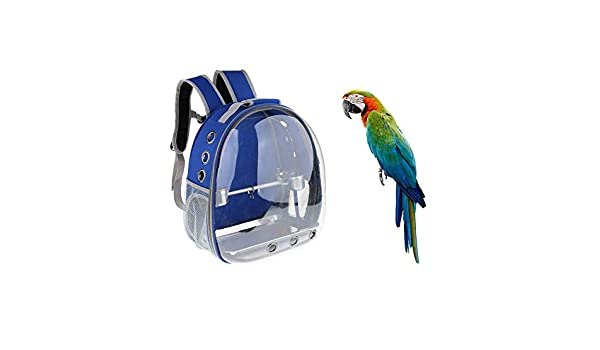 LPxdywlk Mochila De Viaje para Mascotas Al Aire Libre Jaula ...