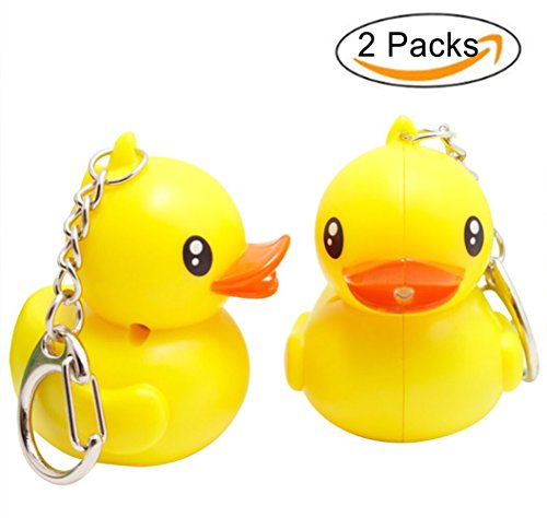 Yellow Rubber Duck Keychain - 5