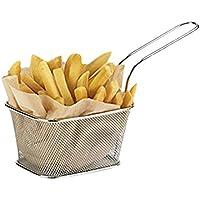 Juego de cestas individuales pequeñas para fritura (de