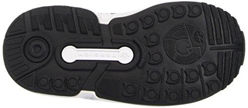 adidas Zx Flux El I, Zapatillas Unisex Bebé Cblack/Cblack/Ftwwht