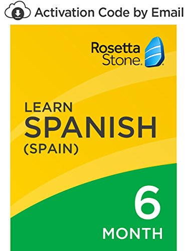 Rosetta Stone: Learn Spanish (Spain) for 6 months on iOS, Android, PC, and Mac [Activation Code by Email] by...