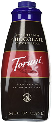 Torani Sugar Free Dark Chocolate Sauce, 64 Ounce ()