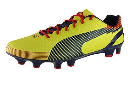 Puma Amarilla Graphic 1 Evospeed Bota de Amarilla FG fútbol OxRqwFvF0E