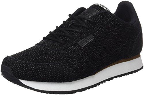 Negro Pearl Woden Ydun Black Zapatillas para Mujer qxTXT5H