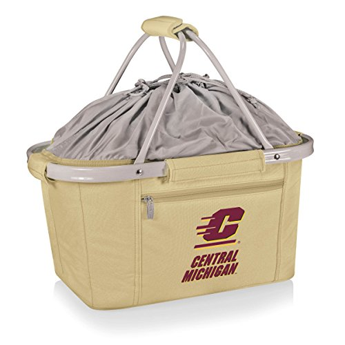 PICNIC TIME 645-00-190-074-1 Central Michigan University Tailgating Tote Bag Picnic Basket by PICNIC TIME