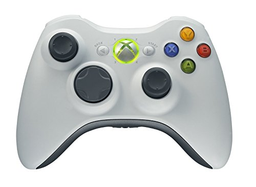 Xbox 360 Wireless Controller - White (Certified - Xbox 360 Red Modded Controller
