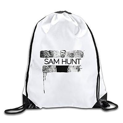 Hunson - Special Sam Hunt Montevallo Backpack Sack Bag Gym Bag For Men & Women Sackpack