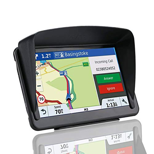 GPS Navigation for Trucks and Cars, 7 Inch 8GB HD Touch Screen Built-in 256MB GPS Navigation System,Voice Navigation for Car GPS,Navigator with Lifetime Map Update (Black) (Black) (Car Navigator)