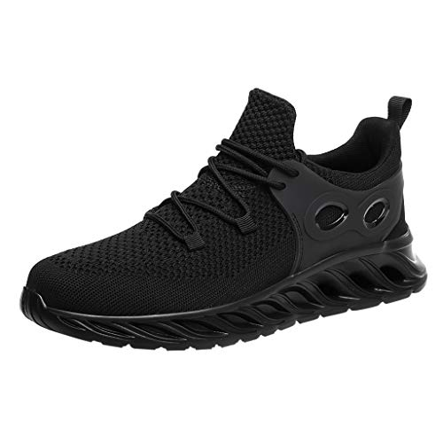 Londony Women/Mens Air Trainers Fitness Casual Athletic Sneakers Running Shoes Tennis Shoe Walking Baseball ()