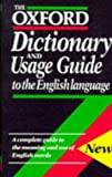 The Oxford Dictionary and Usage Guide to the English Language, , 0198613121