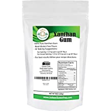 15% OFF Xanthan Gum Gluten Free(8 oz) - USA Packaged & Filled - Dedicated Gluten & Nut Free Facility (a $1.5 promotion discount will be applied at checkout)