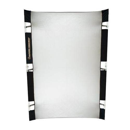 California Sunbounce Pro (4 x 6 Feet) Kit-Reflector Panel Kit with Frame and Carry Bag (Silver/White) by California Sunbounce