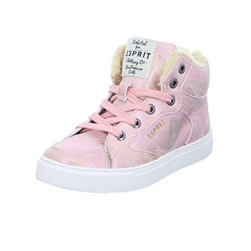 Esprit 086EKKW003 Kinder Mädchen Sneaker Low Low-Boots Reißverschluss Old Pink