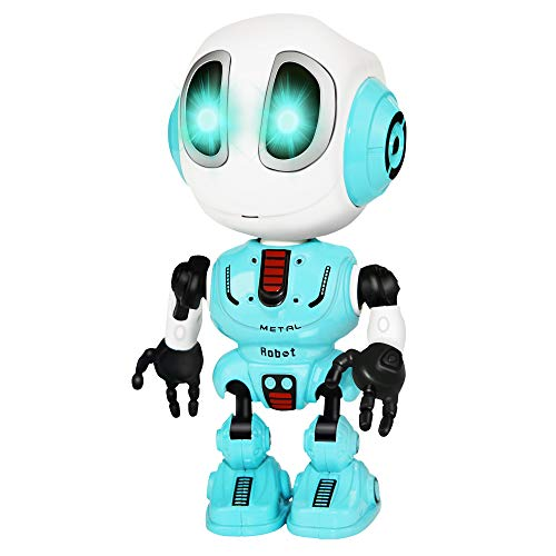 Tisy Birthday Presents Gifts for 3-12 Year Old Boys, Talking Robot for Boys Toddlers Infant Kids Fun Toys for 3-12 Year Old Boys Recording Toys for Boys Age 3-12 Blue ()