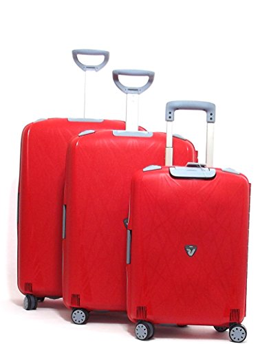 Roncato set tre trolley, light 500710-12, 4R arancio TSA CNOR
