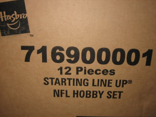 Starting Lineup 2000 Football NFL Hobby Factory Case of 12 Figures Sealed 12 Box Factory Sealed Case