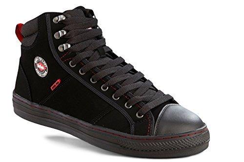 Lee Cooper zapatos de seguridad LCSHOE022SB/Sra barco de béisbol negro