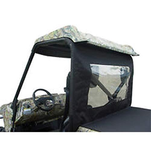 (UTV Rear Window - Black 2009 Yamaha YXR700F Rhino 700 FI Sport Edition Utility Vehicle)