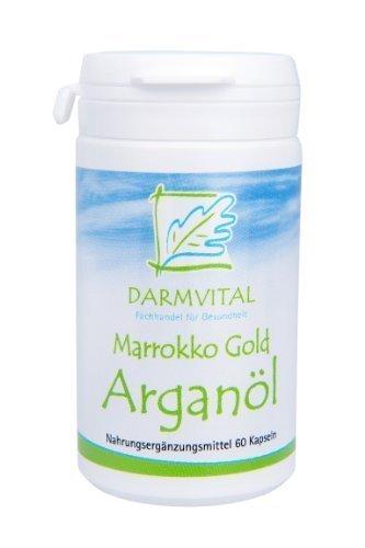 DarmVital Marruecos Oro Aceite de Argán, 60 cápsulas,500 mg