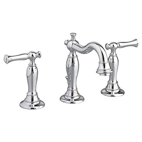 American Standard 7440851.002 Quentin 2-Handle 8 Inch Widespread Bathroom Faucet, 6.63 in wide x 8.00 in tall x 7 in deep, Polished Chrome