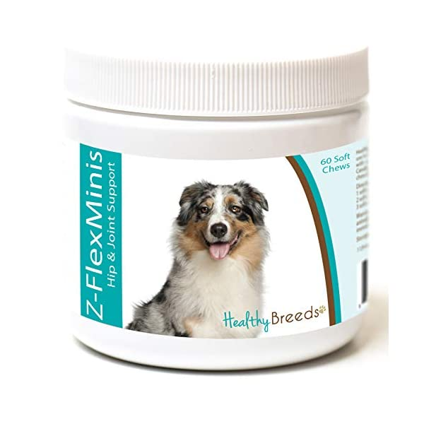 Healthy Breeds Z-Flex Minis Hip & Joint Support Soft Chews - Over 100 Breeds - Small Breed Formula - 60 Count 1