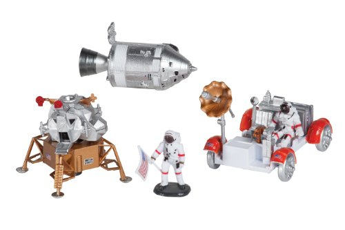 Space Adventure Lunar Rover Playset
