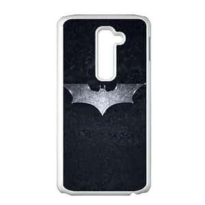 LG G2 Cell Phone Case White Batman The Dark Knight SU4466127