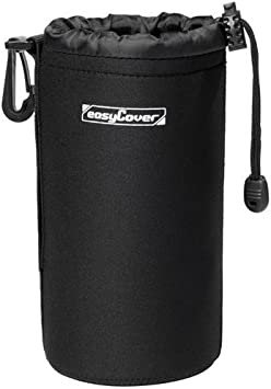 easyCover Lens Case Medium Pouch to fit Zoom or Prime Camera Lenses.